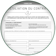 RÉSILIATION DU CONTRAT D'ACHAT