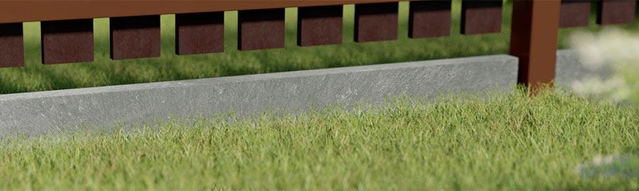 Base para la valla
