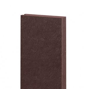 Platelage 132x32, 1,2 m, sans ressort, avec rainure, H