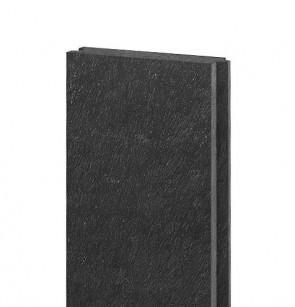 Platelage 132x32, 1,2 m, avec ressort et rainure, N