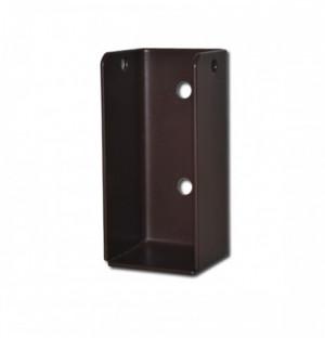 Attache de poutre 75x35x30 mm, zinguée, noir