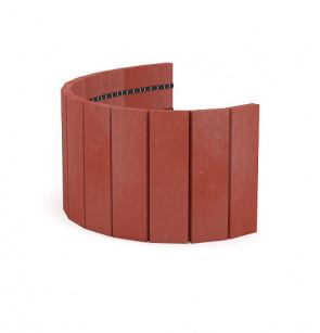 Palisáda 29x2,1x101,4 cm, cihlová